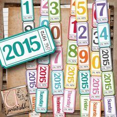 U printables by RebeccaB: FREE Printable - 2015 Tickets