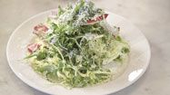 Nancy Silverton talks salads  The Mozza chef loves salads but finds that restaurants don't always give them proper attention. She shares tips so that home cooks won't do the same.