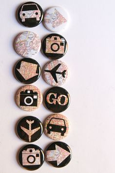Perhaps pins w/ maps of Zam, Zim, SA and photos of girls for ???? who knows