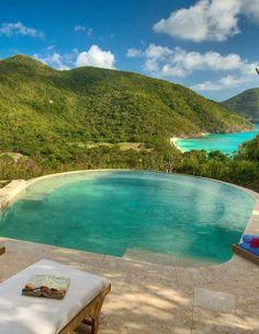 Guana Island in the British Virgin Islands Caribbean