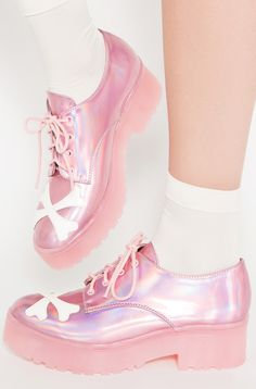 Rad shoes for alt girls. Buy Hey You Guys Cleated Flat cross your pink bones! Awesome selection of edgy shoes. Best flats! Shipping worldwide. Goonies 4 Life!