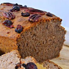 Buckwheat Banana Bread. An all time favourite with healthy and wholesome ingredients. Vegan, gluten and sugar free. Join the Eat Yourself Green community.