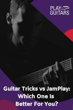 When it comes to learning how to play the guitar, the internet has helped to make the process incredibly accessible. There are dozens of providers out there, but Guitar Tricks and JamPlay are two of the biggest available. One of the most common questions students always ask though is Guitar Tricks vs JamPlay, which is better? Find out here! #guitarlessons #guitarlessonsforbeginners #guitarprogram Guitar Solo, Guitar Tips, Cool Guitar, Guitar Reviews, Types Of Guitar, Guitar Lessons For Beginners, Guitar Tuners, Guitar Tutorial, Learn To Play Guitar