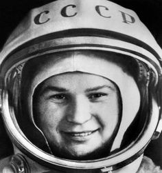 "Soviet cosmonaut Valentina Tereshkova, the first woman in space, seen in Star City, outside Moscow, on June 7, 2013. Russia is celebrating the 50th anniversary of the maiden flight of the Soviet national hero who went by the call name ""Seagull"" and captured the imaginations of girls around the world. The 76-year-old remains the only women to have ever made a solo flight in space.  Read more at: http://phys.org/news/2013-06-russia-fetes-50th-anniversary-woman.html#jCp"