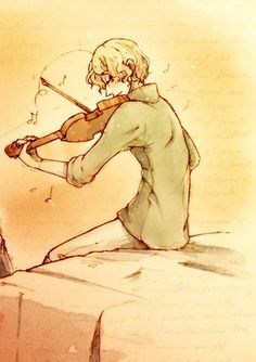 Canada can play the violin! (Or maybe it's the viola... because that instrument is often forgotten.)