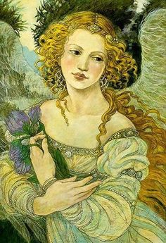 Rebecca Guay is an artist known early in her career as an illustrator. Rebecca Guay began her art career in after graduating from the pratt institute Art And Illustration, Illustrations, Renaissance Kunst, Angels Among Us, Angel Art, Oeuvre D'art, Art Inspo, Fantasy Art, Fairy Tales
