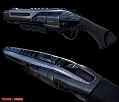 Abe's Shotgun from Evolve. I was responsible for model and texture work on this weapon.