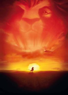 Textless Disney movie posters - The Lion King