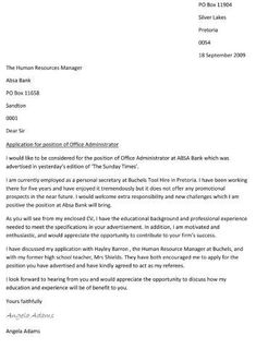 Write A Cover Letter Professional Cover Letter Writing  Cover Letter  Pinterest