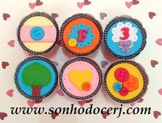Cupcakes Lalaloopsy ! curta nossa página no Facebook: www.facebook.com/sonhodocerj