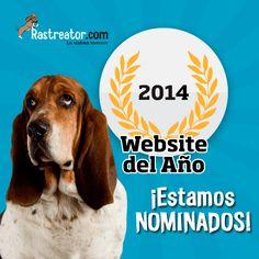 ¡Nominados a la web del año! ¿Nos ayudas a ganar? ;-)