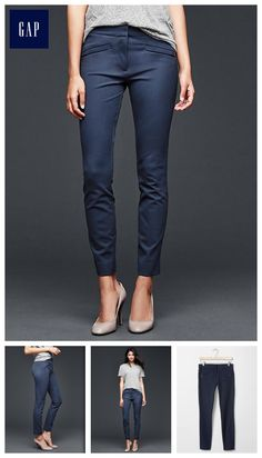 Skinny ankle pants - Made with Bi-Stretch fabric that holds, recovers and flatters every figure.