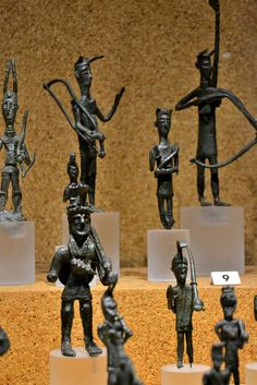 Nuragic votive figurines - Warriors Bronzes of the Nuragic age National Archeological Museum - Cagliari