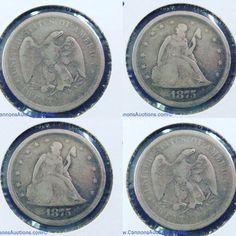 1875 United States 20 cent. Bids close Thurs, 20 Oct from 11am ET. http://bid.cannonsauctions.com/cgi-bin/mnlist.cgi?redbird72/1724/1