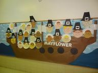 november bulletin board ideas - But with students' pictures instead