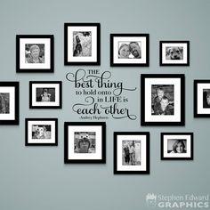 Decorazioni pareti di casa con scritte idee per decorare for Famiglia parete