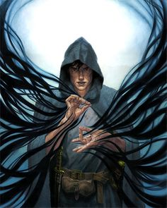 The magic reminds me of Maklar, but that's it [The Gray Mouser by ~gallegosart-com on deviantART]