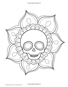 845 Best Sugar Skulls and things images in 2019