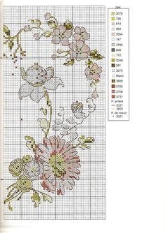Coração de Flores - 3º de 3 /// Revista - Point de Croix nº54 - Dec 2012