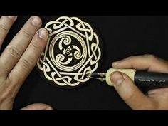 Pyrography project 19 - YouTube