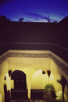 Sunset in Riad Aguaviva