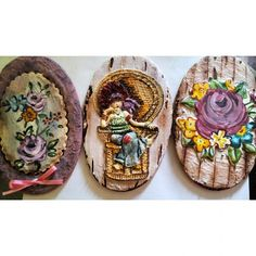 Buenos días, feliz jueves!! Good morning! #decoratedsugarcookies #galletasconrelieve #lovecookies #rosas #roses #pintadaamano #handmade #handpainted #biscotti #ghiacciareale #glasa #sarahkay #misrecetasmasdulces