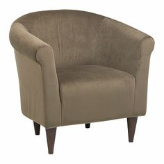 Mocha Tub Chair at Big Lots. - For the foot of the bed, two please!