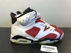 9c090ed09bea87 Details about Air Jordan VI Carmine CDP Pack 2008 Size 14 Nike Mens Red  Shoes Jumpman Infrared