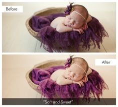 Lightroom 5 Presets | Dreamy Baby Collection and Newborn Brush Bundle | Pretty Presets for Lightroom