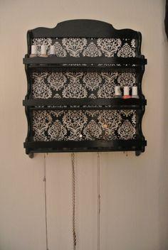 Nail Polish Storage Shelf by Katidids1019 on Etsy