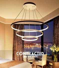 Generous Post-modern Led Luminaires Wooden Bedroom Suspended Lighting Loft Novelty Fixtures Nordic Hanging Lights Living Room Chandelier Ceiling Lights & Fans