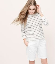 Shorts For Women Over 40 - a girl can dream! Definitely not in white, because who can keep them clean.