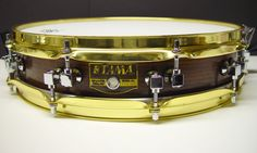 "TAMA Rosewood Piccolo Snare Drum 3-1/4"" x 14"" RW323"