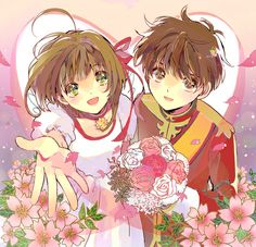 Cardcaptor Sakura - Sakura & Syaoran   ちょみ [pixiv]
