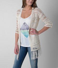 be67e306fc Daytrip Tape Yarn Cardigan Sweater Cardigan Sweaters For Women
