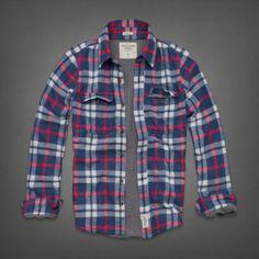 Mens Mountain Pond Flannel Shirt | Mens Shirts | Abercrombie.com