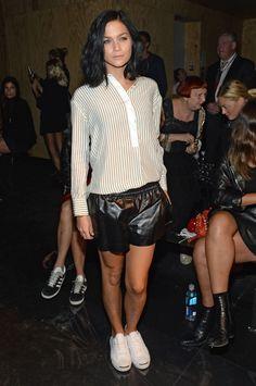 Leigh Lezark  - rag & bone - Front Row- Spring 2016 New York Fashion Week