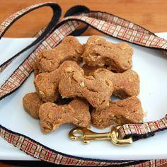 Crunchy Peanut Butter Dog Treats