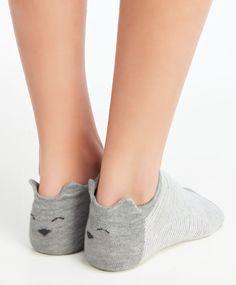 Pack 3 calcetines tobilleros gatitos - Novedades - ACCESORIOS | Otoño Invierno…