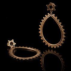 Brass Ear Tunnels/Plugs Brass Gauge Jewellery Code 53 by TRIBALIK