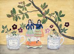 430 vind-ik-leuks, 25 reacties - Debbie George (@debbiegeorgepainter) op Instagram: ''Underneath the oak tree' one of the larger paintings in my forthcoming exhibition…'