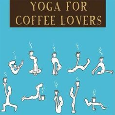 And who says you can't exercise with coffee? #meadecafe #coffee #yoga