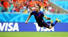 Another flying Dutchman: Robin van Persie