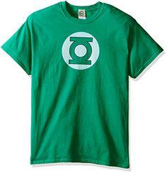 d8f79e422 DC Comics Men's Green Lantern Logo T-Shirt   Thesitcompost.com Green  Lantern T