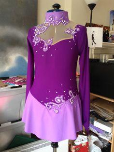 Sparkle Ice - Purple Swirls
