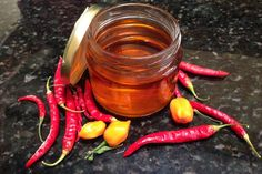 We went to a 'favoloso' lunch the other Sunday at the home of my sister's parter's parents, Angela and Ralph. They welcomed us into. Hot Pepper Recipes, Hot Sauce Recipes, Chili Recipes, Chinese Chili Oil, Breakfast Tacos, Infused Oils, Edible Gifts, Fermented Foods, Spice Mixes