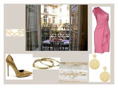 """balcony"" by maybejustonetear ❤ liked on Polyvore featuring Karen Kane, Adami & Martucci, BKE, Plein Sud, Accessorize and Gypsy"