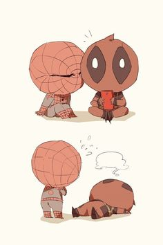 Spideypool162 by LKiKAi on DeviantArt - Visit to grab an amazing super hero shirt now on sale!