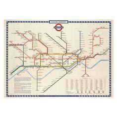 london tube map wedding table plan