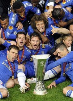 CAMPEONES UEL Chelsea Fc Team, Chelsea News, Chelsea Football, Blue Bloods, Europa League, Fa Cup, Uefa Champions League, West London, Big Time